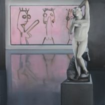 Exhibition II, 2013, 203 x 197, oil paint on canvas