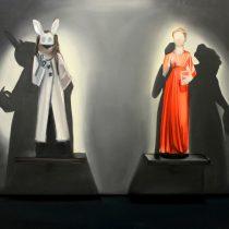 Exhibition VI, 2014, 200 x 180 cm, oil paint on canvas