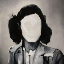 Portrait, 2012, 135 x 110 cm, acrylic paint on canvas