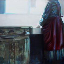 Untitled, 2013, 140 x 158 cm, oil paint on canvas