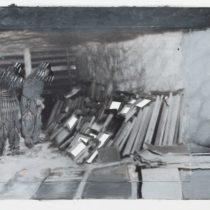 VI, 2015, 16 x 20,3 cm, photo, acrylic paint on paper, framed